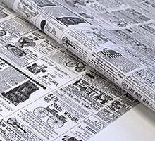 デザインペーパー #08ニュースペーパー